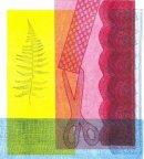 Fern mono print