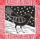 Winter blackbird