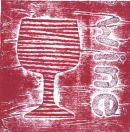 Wine collagraph
