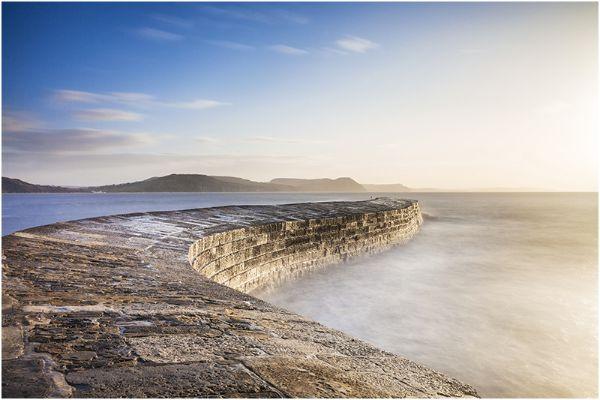 Dorset - The Cobb at Sunrise, Lyme Regis