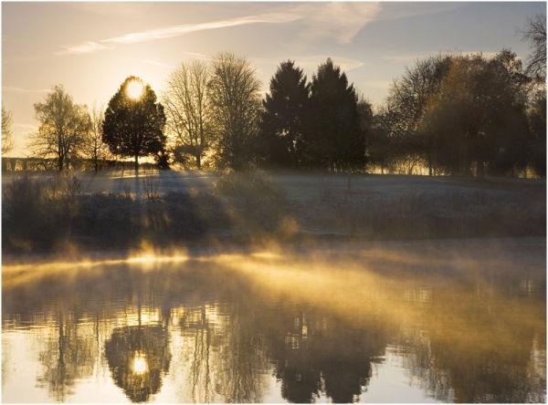C  Misty Morning