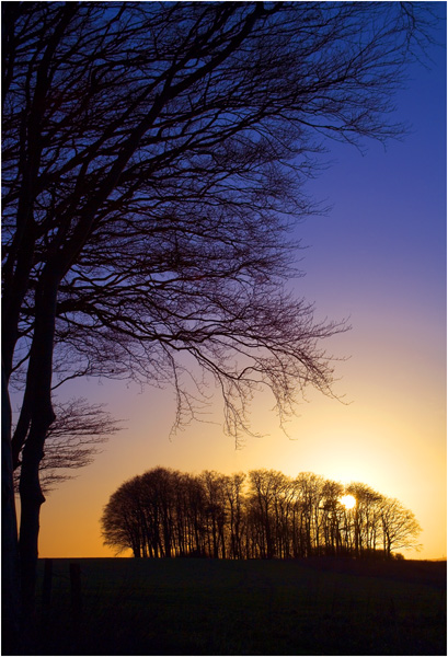 C  Sunset on Hackpen Hill 1