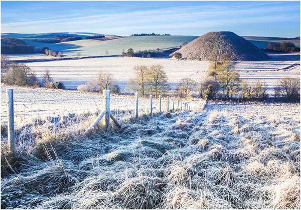 Cold Morning at Silbury Hill