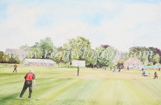 Cricket Ground M.C.S. Oxford