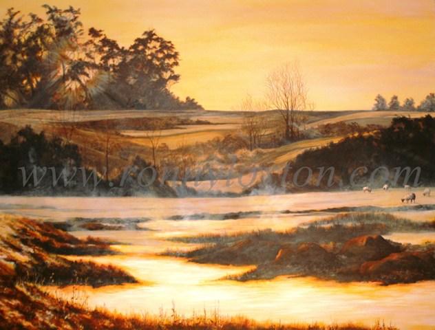 Winter Water Meadows
