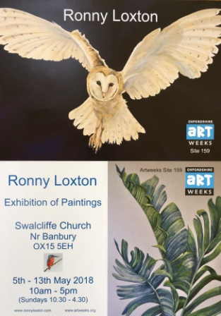 2018 May Exhibition Swalcliffe Church