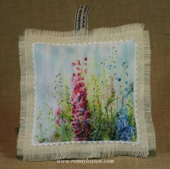 BLA3 Lavender Bag Delphiniums