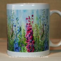 Mug Ceramic Delphiniums MUC2
