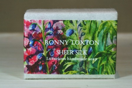 Soap hand made Sheer Silk (Delphinium) SHM1