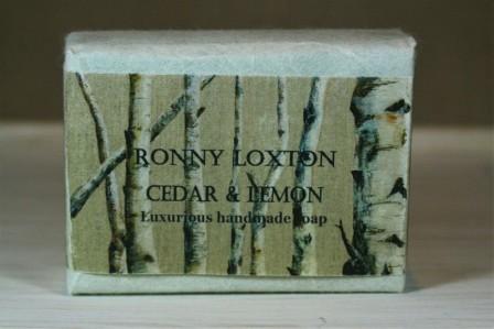 Soap hand made Cedar & Lemon (Silver Birch) SHM4