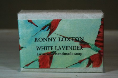 Soap hand made White Lavender (Bee Eaters) SHM5