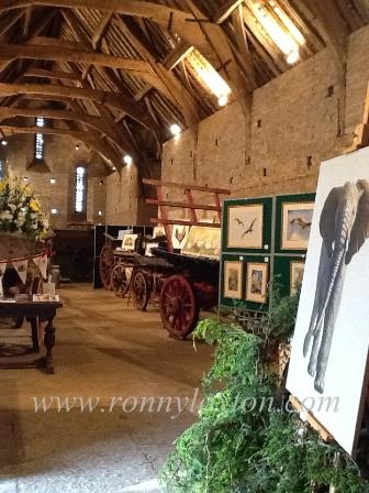 Barn exhibition photo