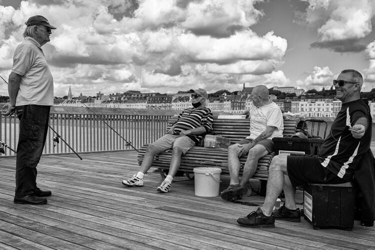 pier fishermen