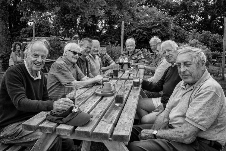 the grumpy old men at The Bull