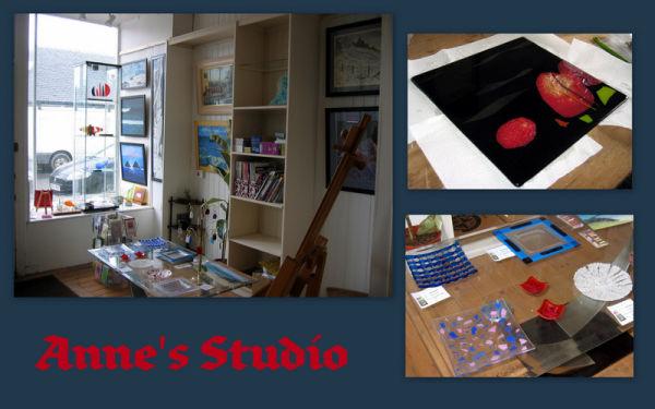 Anne's studio