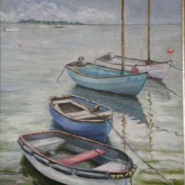 Marsh Tide,  Wells-next-the-Sea