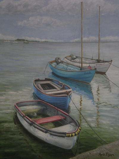 BOATS AND THE SEA