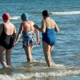 Sea Swimmers at Portmarnock
