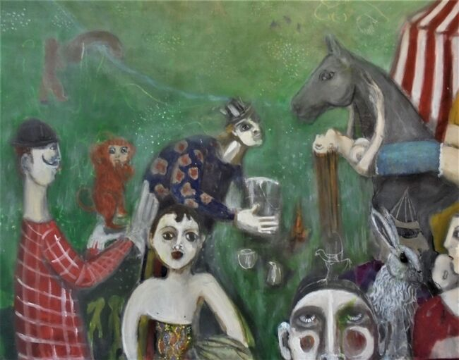 Anne Russell at gallery 286