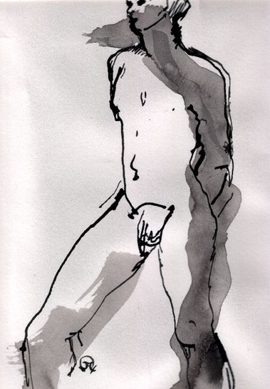 STANDING MALE no.2<br>