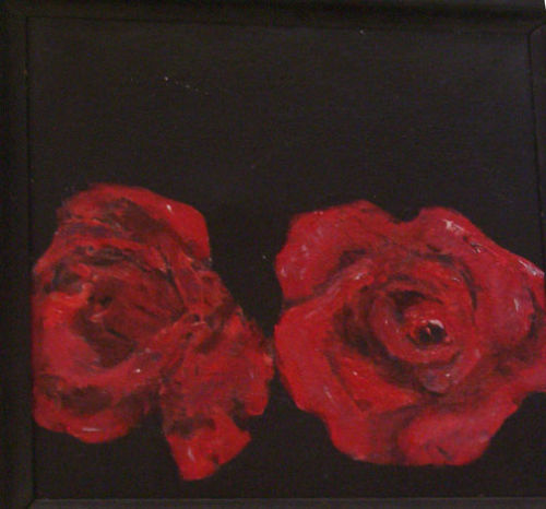 red roses 1 10x10ins<br>