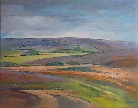 Invitation to Explore Danby Moor. Oil