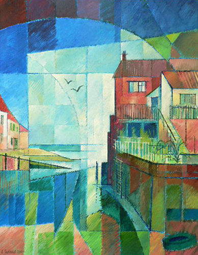The Daydream Staithes. Acrylic