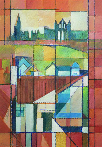 Chim chiminey, Whitby. Acrylic