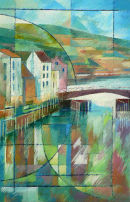 Flow and Contraflow, Whitby. Acrylic