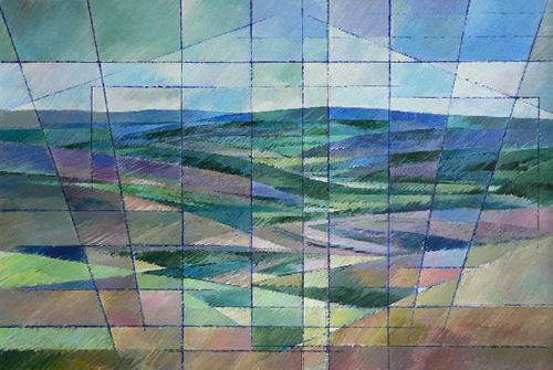 Moorland Facets. Acrylic
