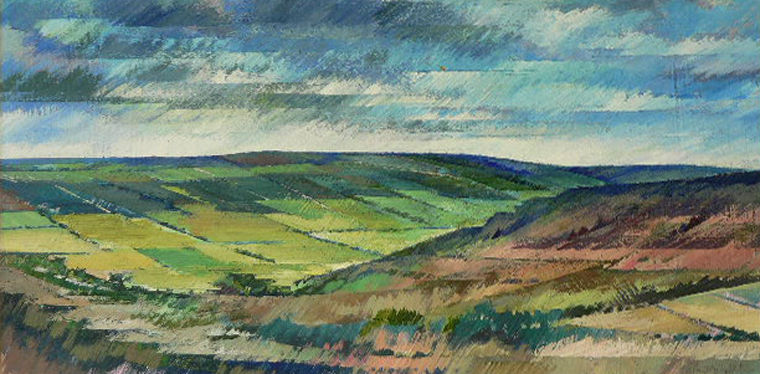 On the Danby road, North Yorkshire Moors