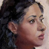3 hour alla prima portrait (nfs)