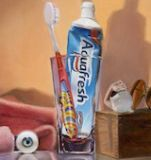 Shelf Life: Oil on Linen board