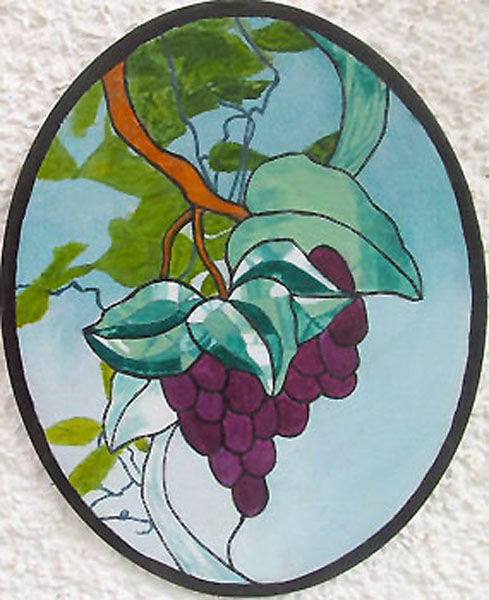 grapes, oil on board, 20cm x 25cm