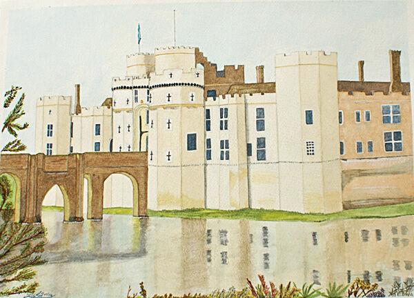 hersmonsoux, watercolour, 28cm x 38cm