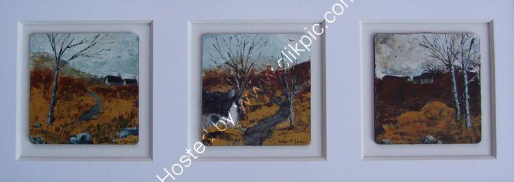 THE BOTHIES [nos: 2, 3, 4] £265 [framed £325]