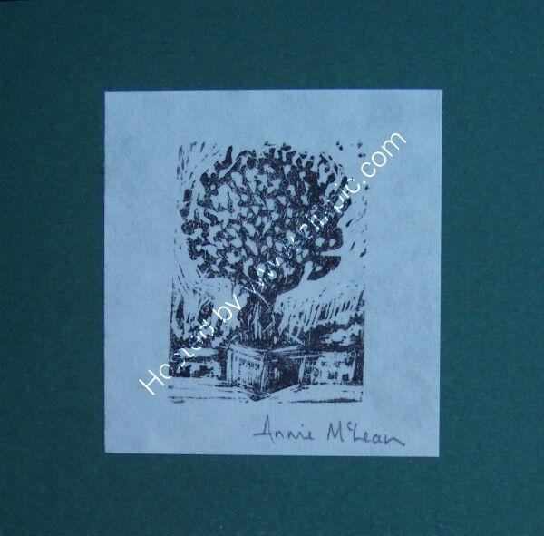 PATIO TREE greetings card