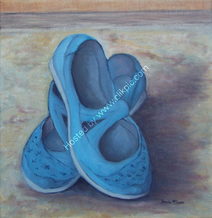 THE OLD BLUE SHOES