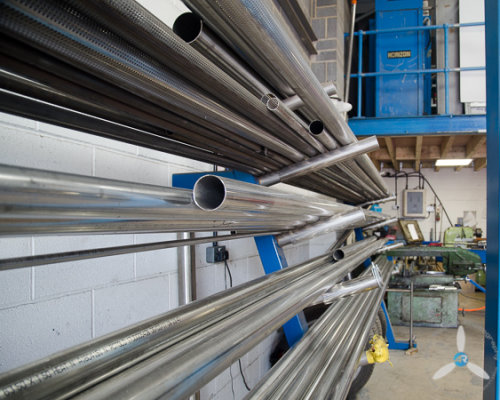 Stainless Steel Pipes at PP Tuning