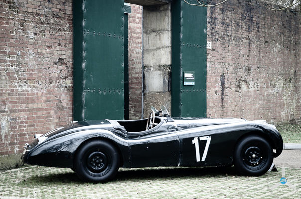 Outside the Blast House, Bicester Heritage