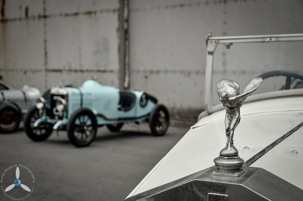 Rolls Royce at the Super Scramble
