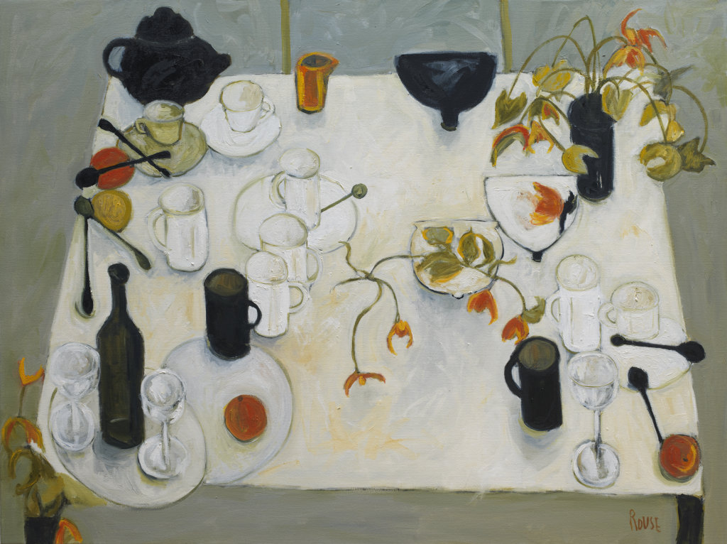 Table With Oranges  (sold)
