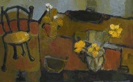 Table and Daffodils