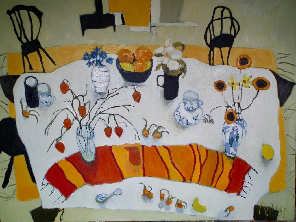 Oranges and Lemons<br>Oil on Canvas, Framed, 91x120cm<br>SOLD