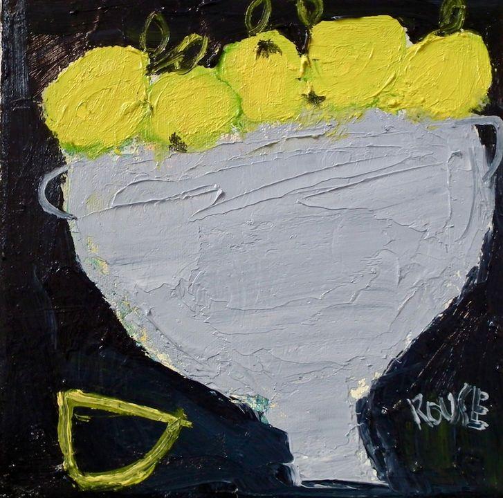 oil on canvas 20x20cms framed