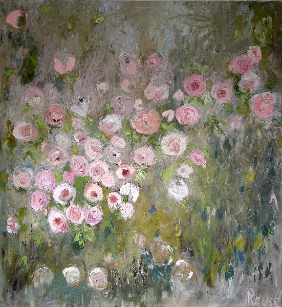 Rose De Provence<br>Oil on Canvas, 110x120cm<br>SOLD
