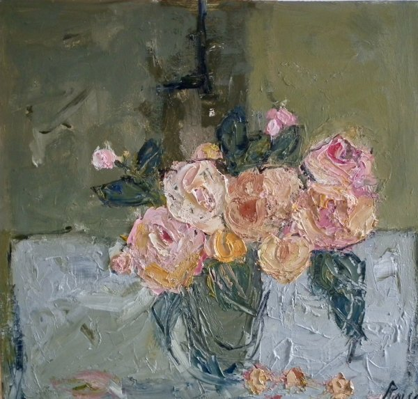 Jug of Roses (sold)