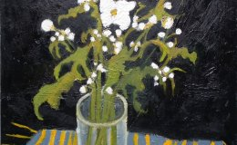 Japans Anemones in Glass