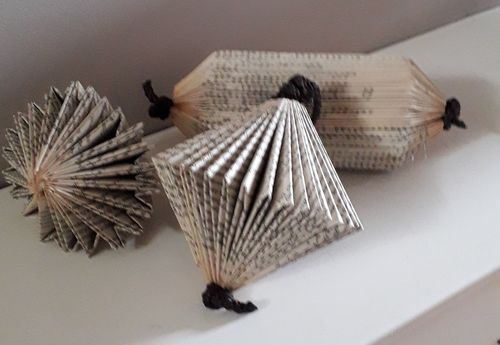 3 Small Book Folds