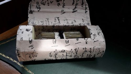 Golden Book Scroll in Special Box